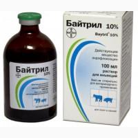 Байтрил 10%, антимикробный препарат, 1л, енрофлоксацин