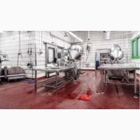 Полы для мясного производства