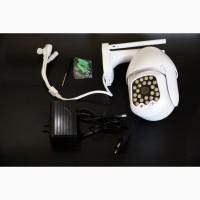 IP WiFi камера 555G с удаленным доступом уличная 2 антенны + блок питания