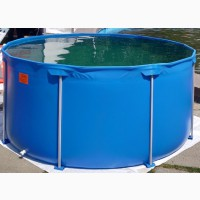 Бассейн для выращивания рыбы на 7000 литров