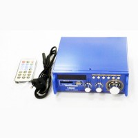 Усилитель UKС SN-3636BT - USB, SD, FM, MP3! 120W+120W 2х канальный