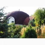 Строительство купольного дома-сферы. Днепропетровск. Украина