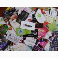 Услуги полиграфии (визитки, еврофлаера, листовки)
