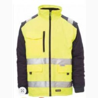 Куртка утепленная рабочая сигнальная