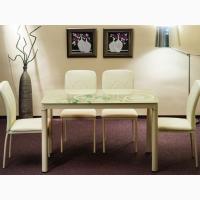 Стол стеклянный Damar 100х60