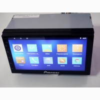 2Din автомагнитола android 7 дюймов Wifi GPS Pioneer P9 сенсорная на Андроиде 2 дин