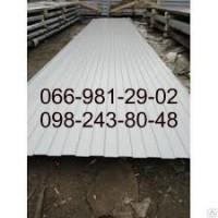 Профнастил Белый РАЛ 9003, Профлист белого цвета RAL 9003