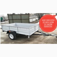 Купить усиленный прицеп 230*130*500 от завода с доставкой