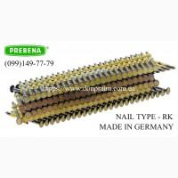 Гвозди RK (50-130 мм) для нейлера по низкой цене
