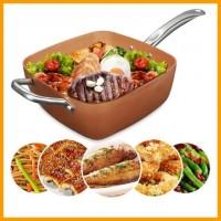 Универсальная сковорода Copper Cook Deep Square Pan 5 в 1