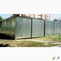 Металлический гараж из профнастила 0, 5 мм