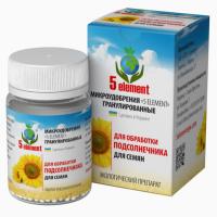 Микроудобрение 5 ELEMENT для обработки семян подсолнечника