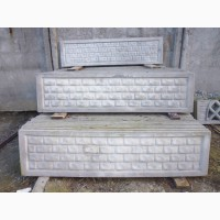 Плиты бетонные армированные для еврозабора