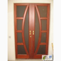 Деревянные двери под заказ